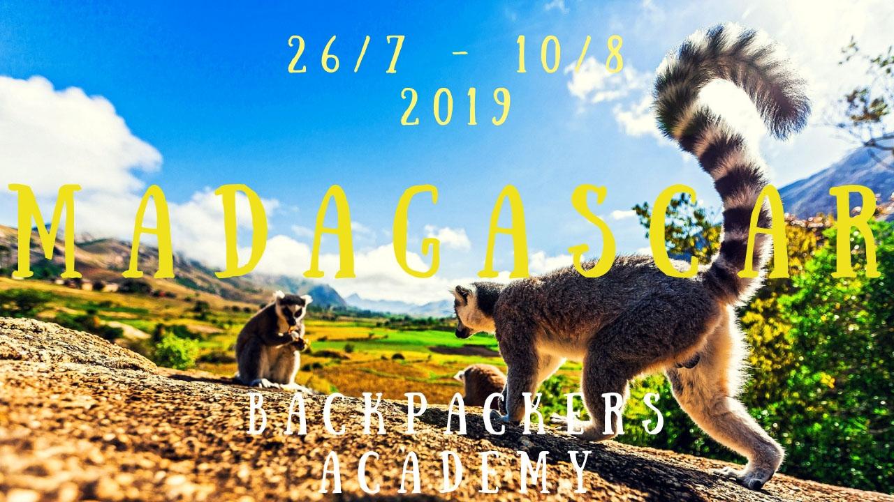 VIAGGIO DI GRUPPO IN MADAGASCAR CON LA BACKPACKERS ACADEMY ESTATE 2019